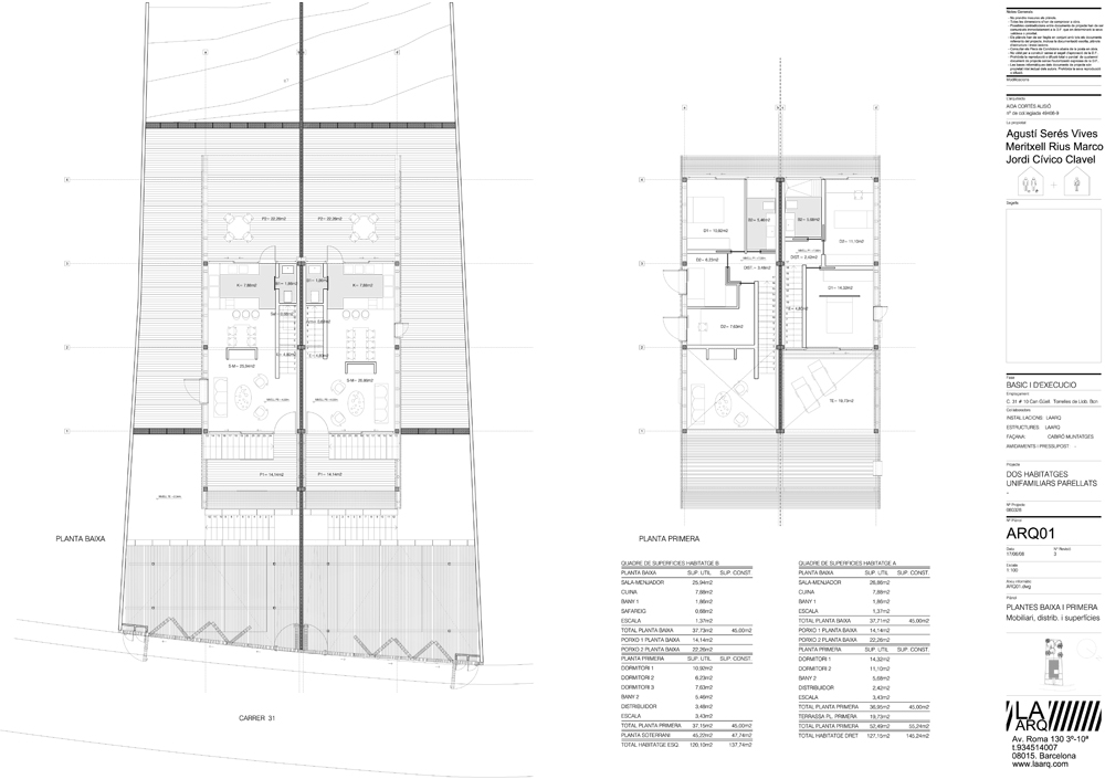 Two-houses-laarq-plan-barcelona